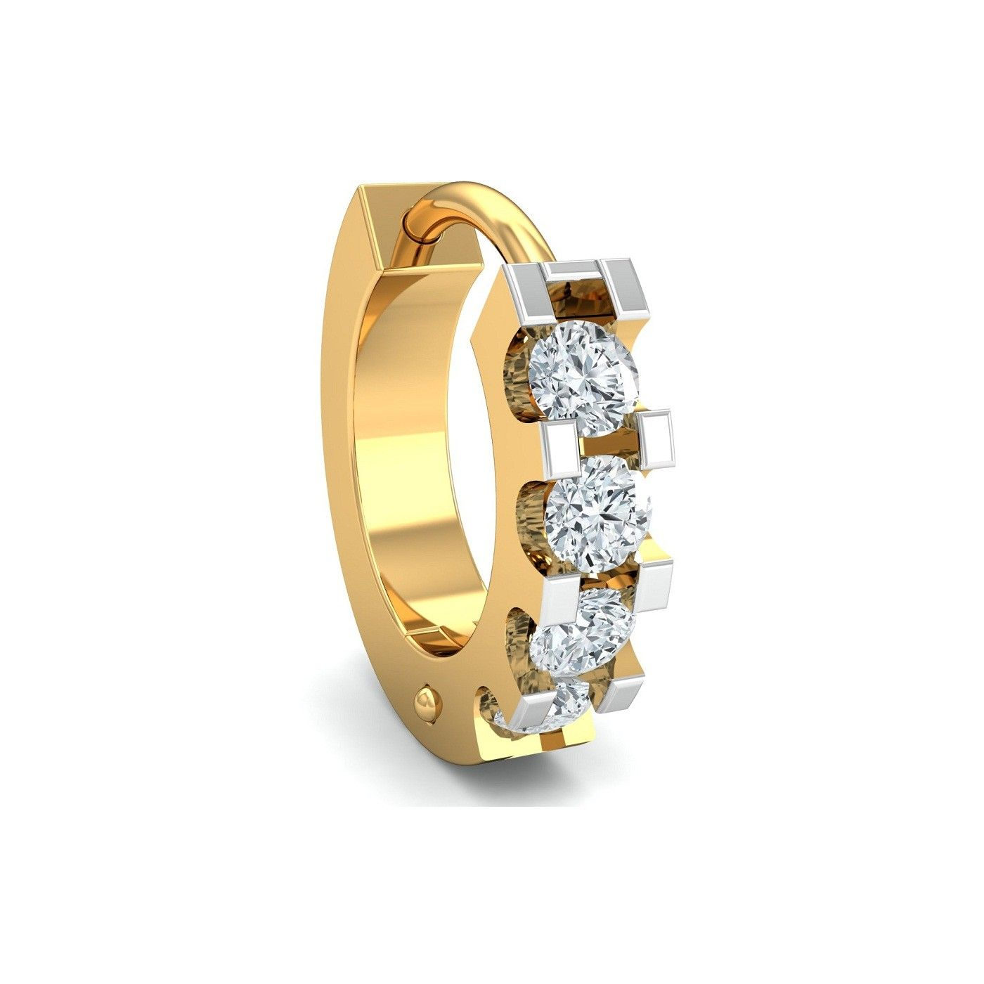Gold Diamond Nose Ring Online Shopping Certified Hallmarked Shop