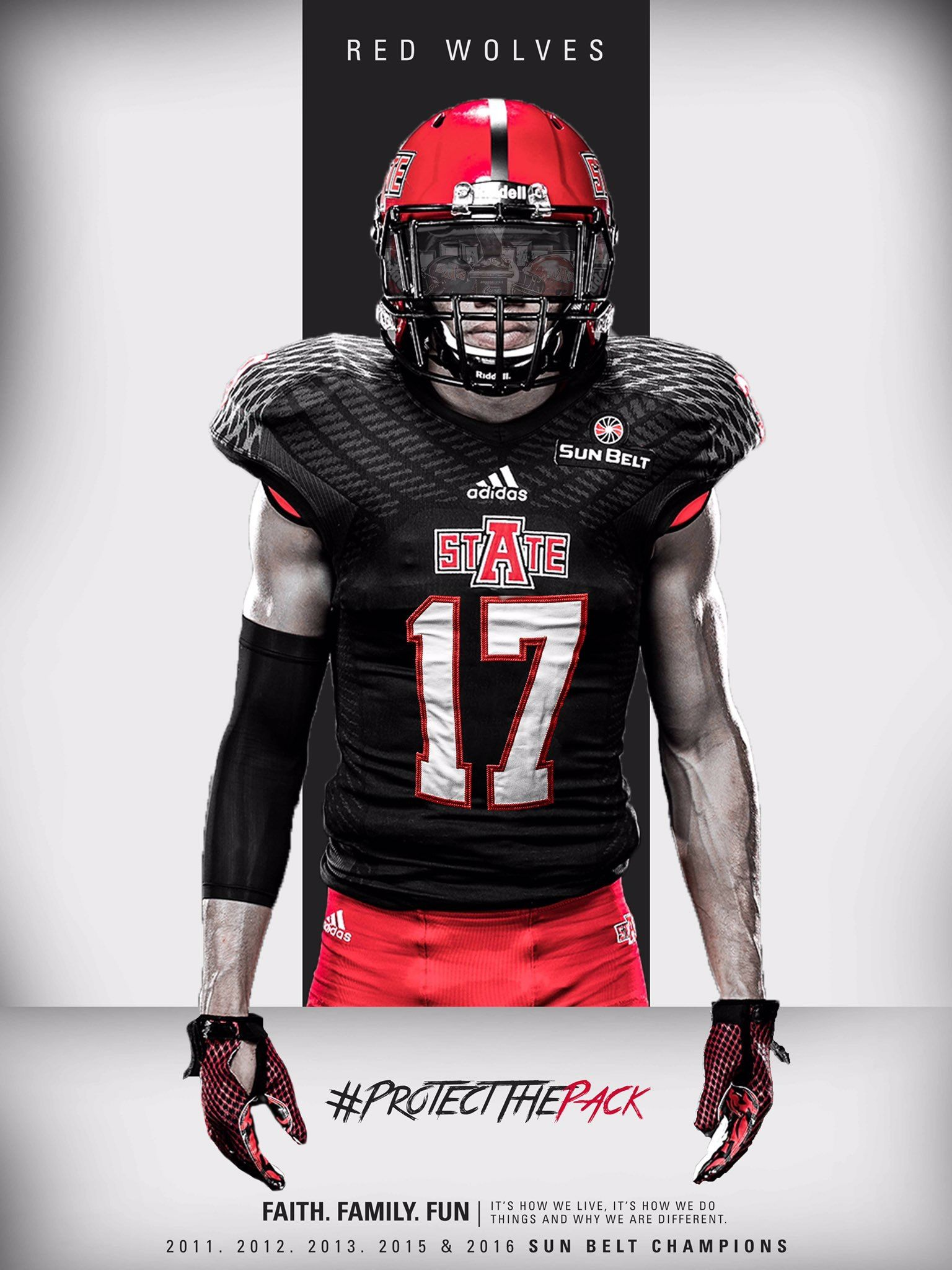 Arkansas State Sports Design Uniform Design Football Recruiting