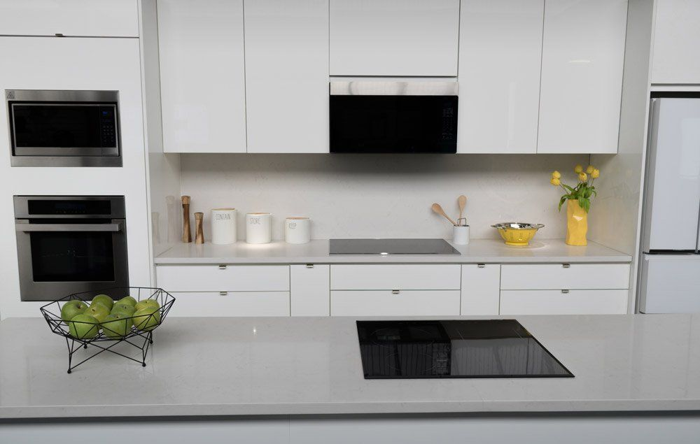 Best Colors For Quartz Countertops With White Cabinets# ... on What Color Cabinets Go Best With Black Granite Countertops  id=43783