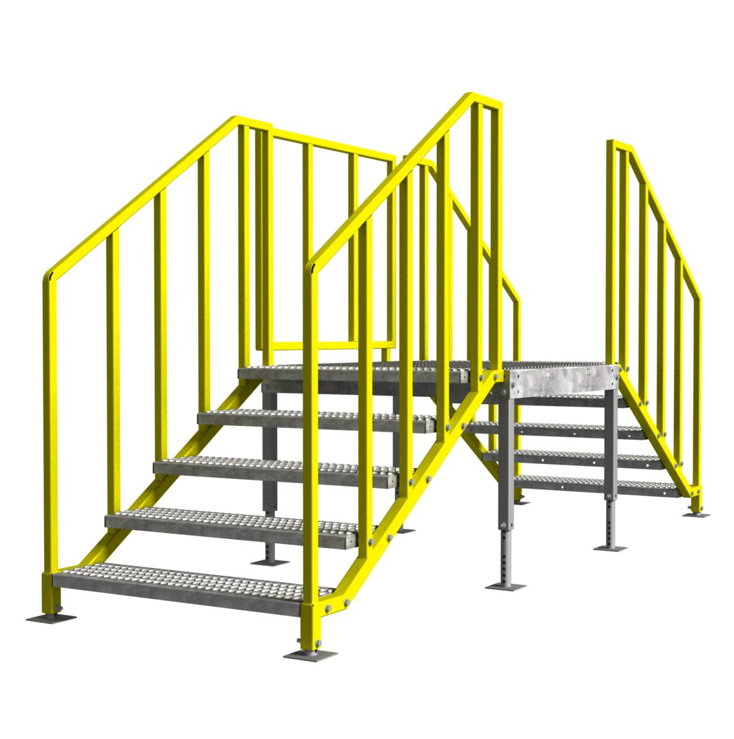 Best Portable Stairs – Multiple Entries Ibc Osha Compliant 400 x 300