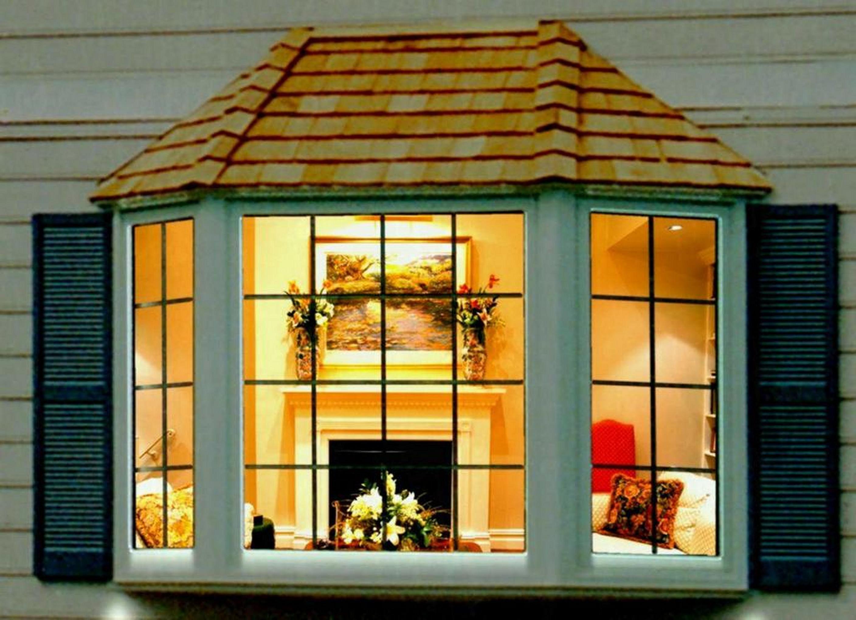 10 Minimalist Home Exterior Design You Need To Try Freshouz Com Bay Window Design Bay Window Exterior House Designs Exterior