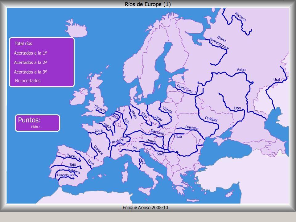 LA NATURALEZA ENSEA MAPA DE EUROPA 1  mapa  Pinterest  Mapa