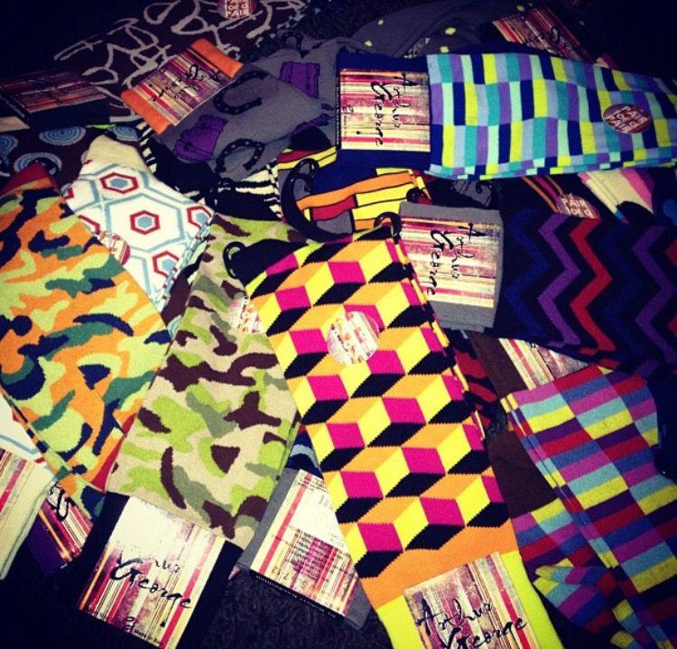 @khloekardashian: Arthur George socks baby! Hows does Lam have socks before I do? Coming soon!
