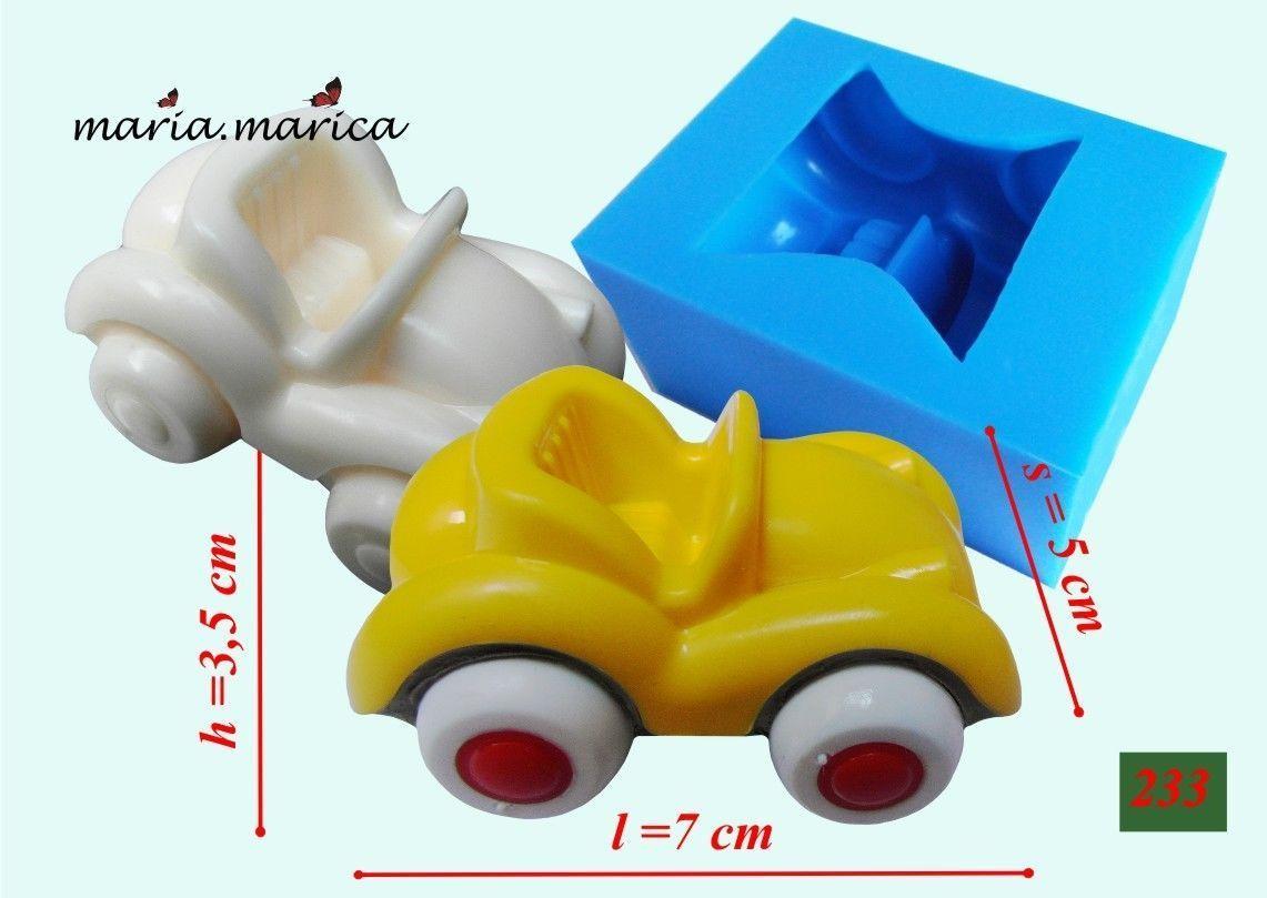 Silicone Mold  Car Mould Mold Cake Fondant Sugarcraft (233)