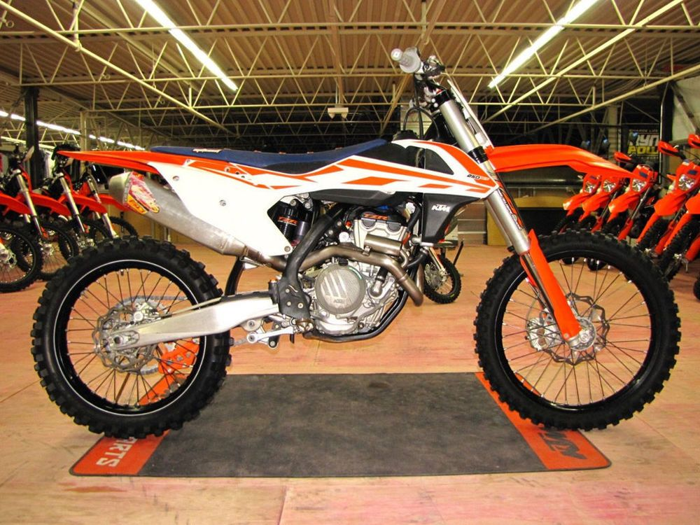 2016 Ktm Sx 250 Sx F Ktm Used Motorcycles For Sale Used Motorcycles
