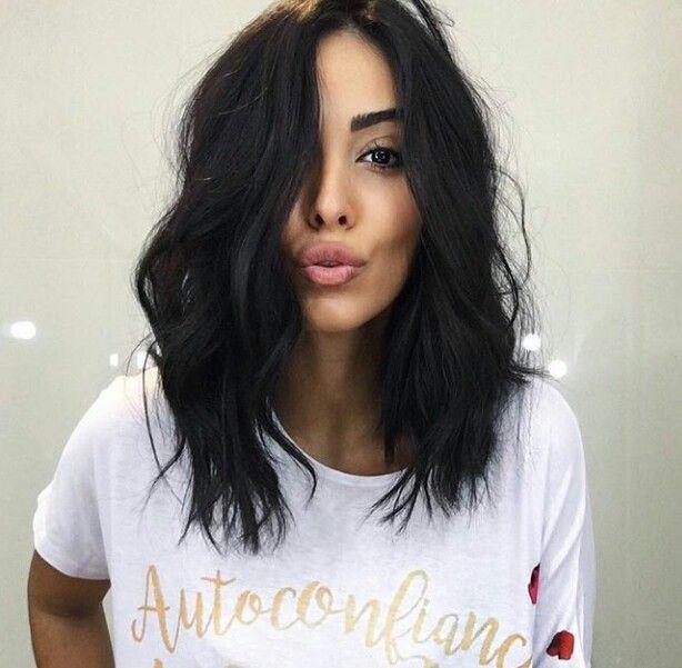 Length Haircut Pinterest Cabello Cabello Cortito E Cabello Oscuro