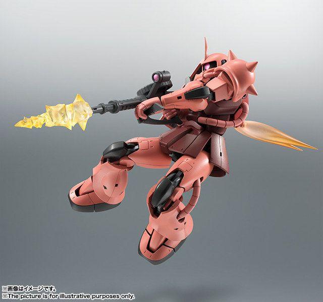完整重現動畫造型 robot魂 強勢新系列 夏亞專用薩克 ver a n i m e gundam gundam toys gundam model