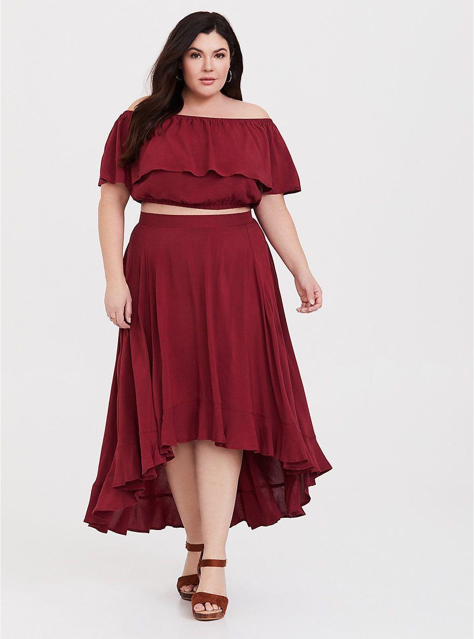 0b68d535bf Red Challis 2-Piece Set in 2019 | Just Dresses! | Dresses, Challis ...