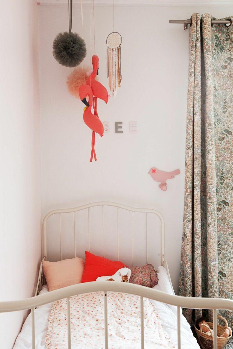 Flamingo Deko Ideen Kinderzimmer Für Mädchen Stofftiere