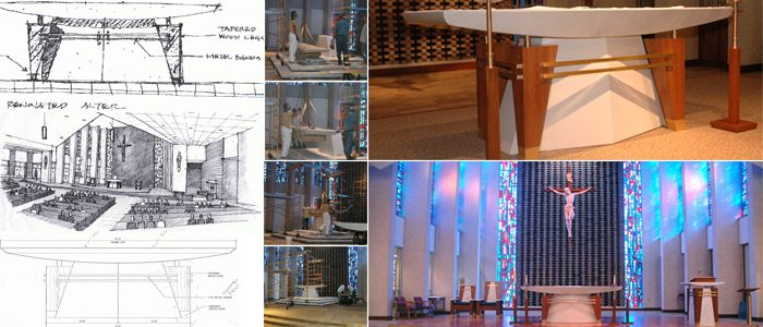 Custom Altars From Henninger 39 S Church Services In Cleveland