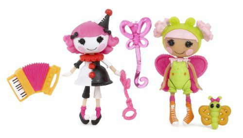 Mini Lalaloopsy Fun House Charlotte and Blossom, Pack of 2