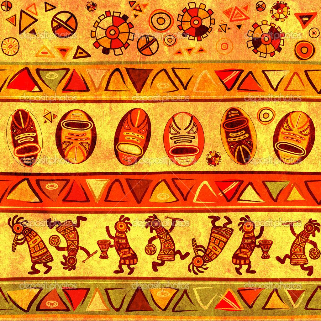 Traditional music is called Folk songs, they are passed ... Traditional African Patterns