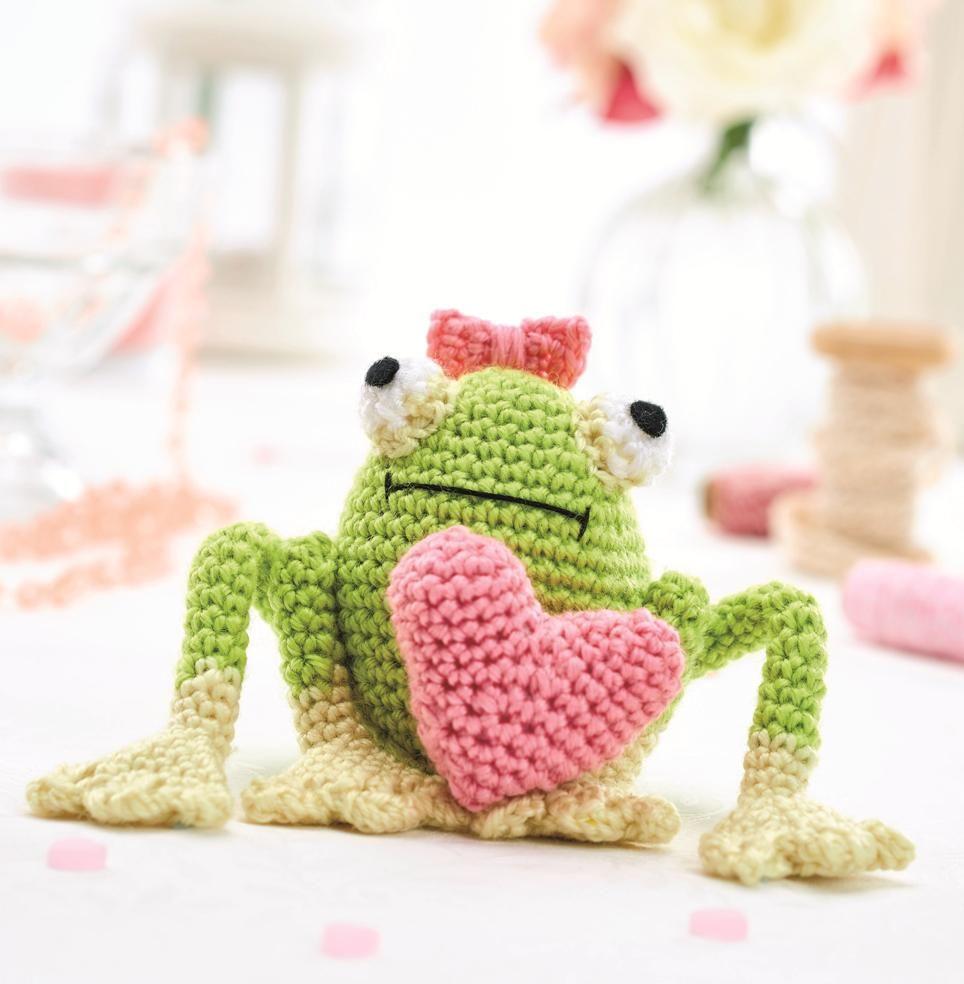 Florian Frog rana amigurumi - magiedifilo.it punto croce uncinetto ... | 984x964