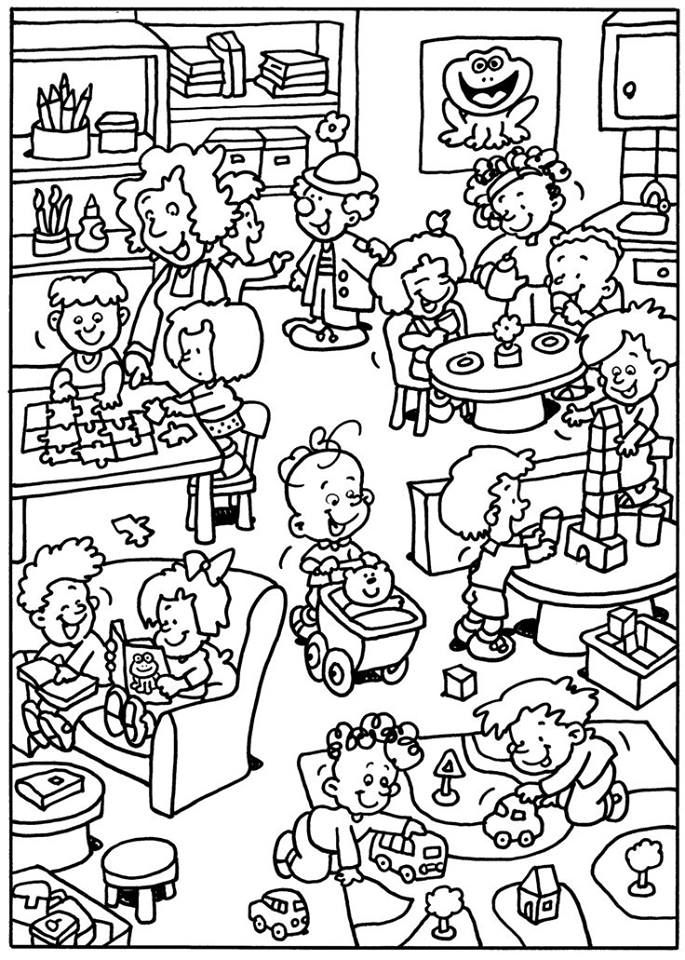 First Day Of Summer Coloring Pages Concept