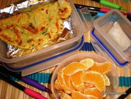Toddler Food Recipes Paneer Cheela For Lunch Box