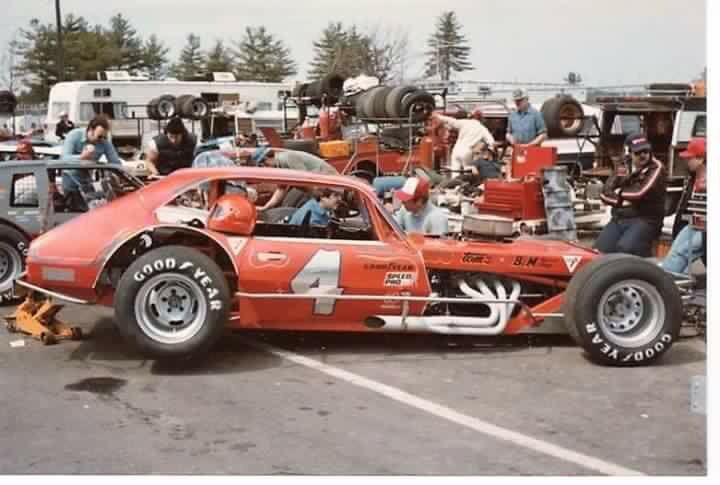 Vintage modified race car
