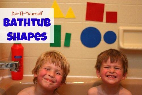 DIY Bathtub Shapes | Bathtubs, Shapes and Activities