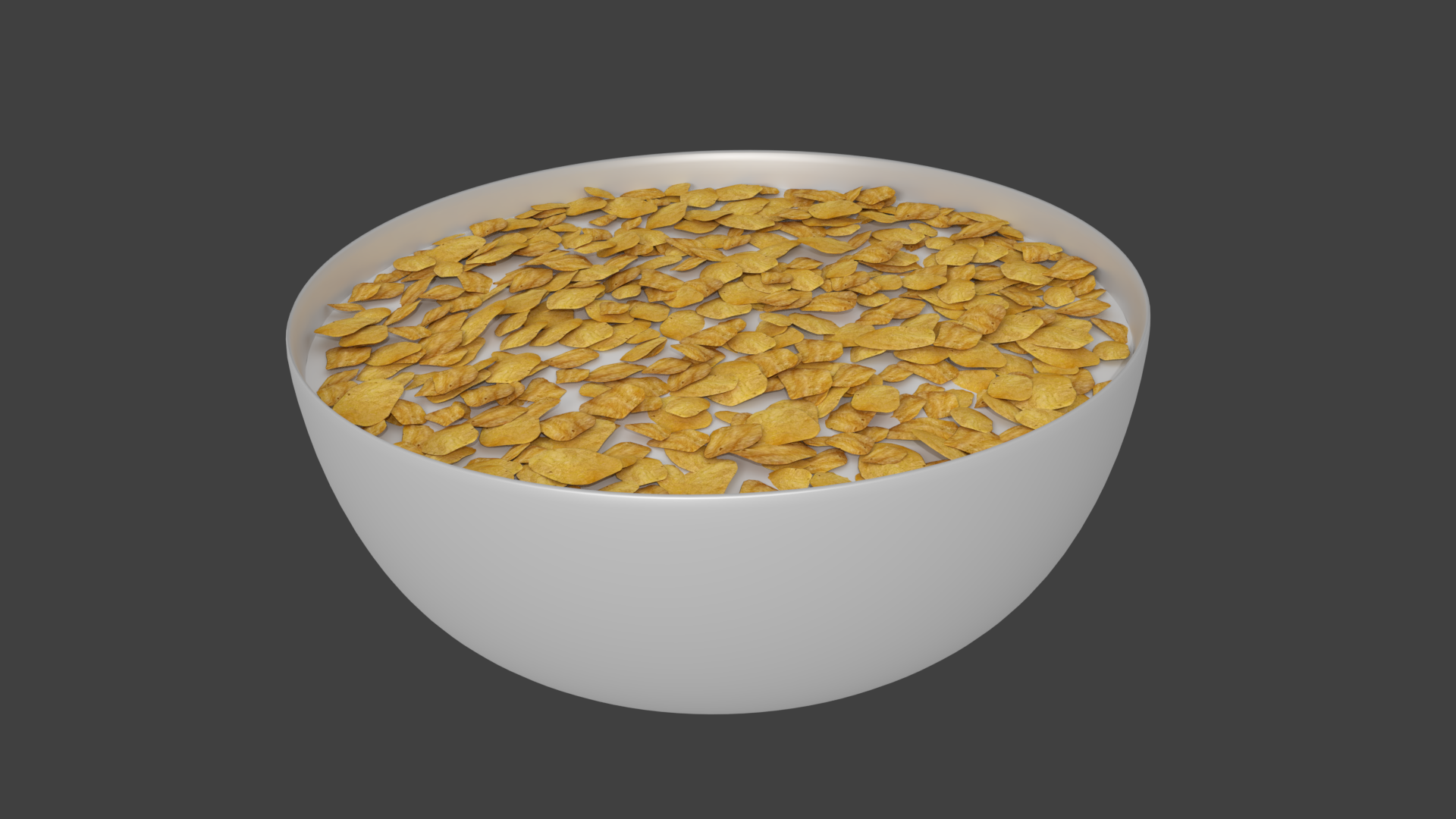Bowl Of Cereal Bowl Of Cereal Bowl Corn Flakes Cereal