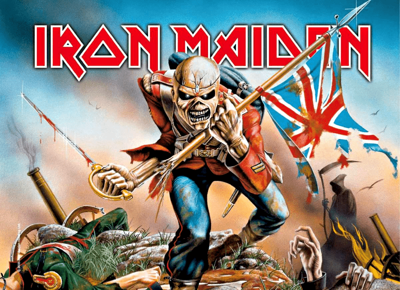 The Story Behind Iron Maiden S The Trooper Vintage Heavy Metal Iron Maiden The Trooper Iron Maiden Albums Iron Maiden Posters