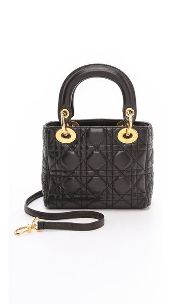 60d494129ce3 What Goes Around Comes Around Dior Lady Dior Mini Bag