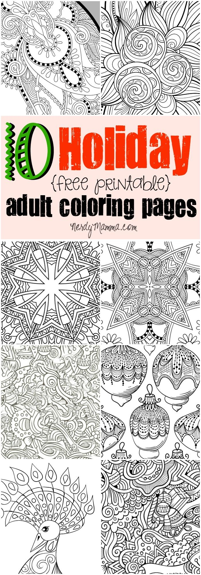I Love These 10 Free Printable Adult Coloring Pages Mean Its Like A