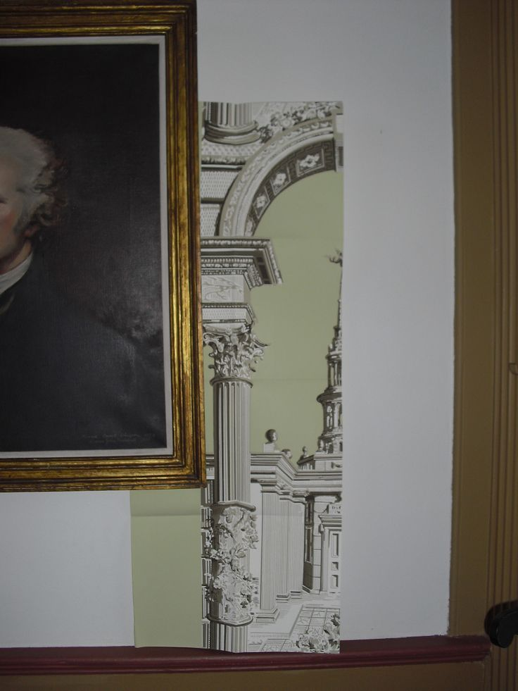A copy of the Paul Revere wallpaper Column and Arch ca 1780s A possible sugg A copy of the Paul Revere wallpaper Column and Arch ca 1780s A possible sugg