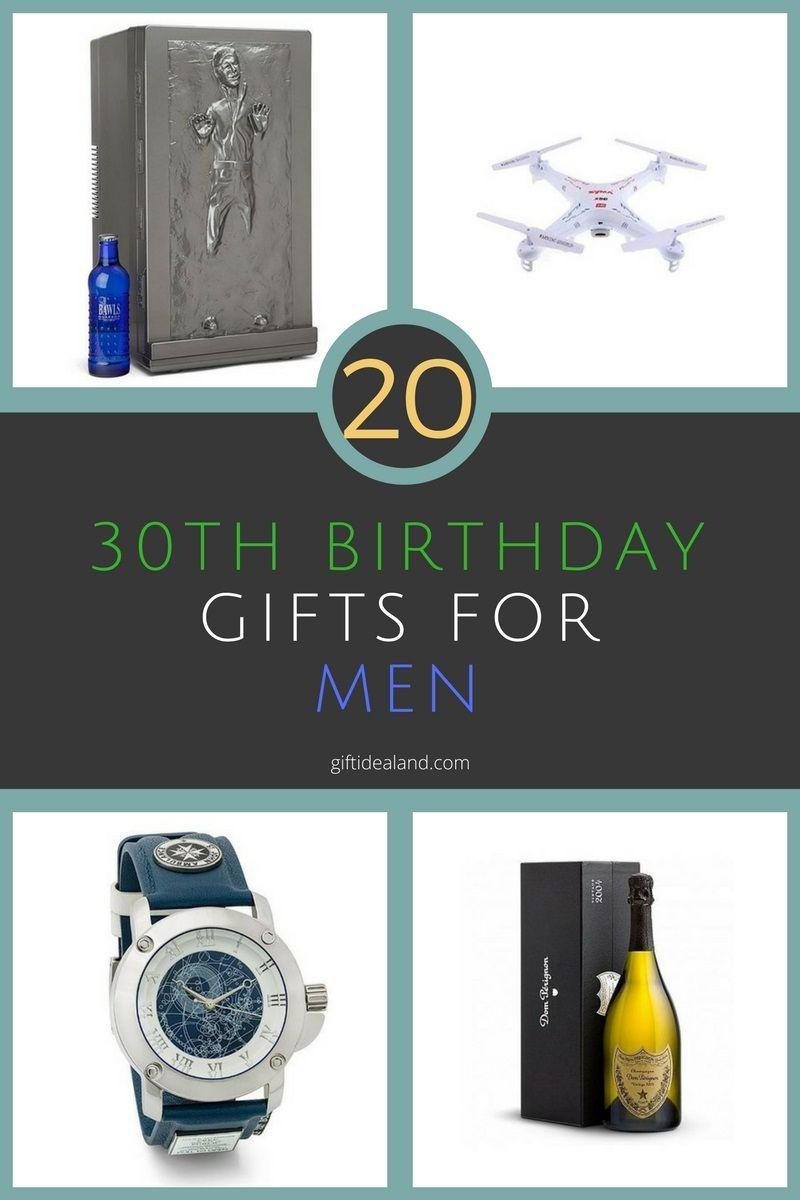 20 good 30th birthday gift ideas for him men guys 30th