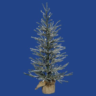 Vickerman 25\u0027 Frosted Angel Pine Artificial Christmas Tree with