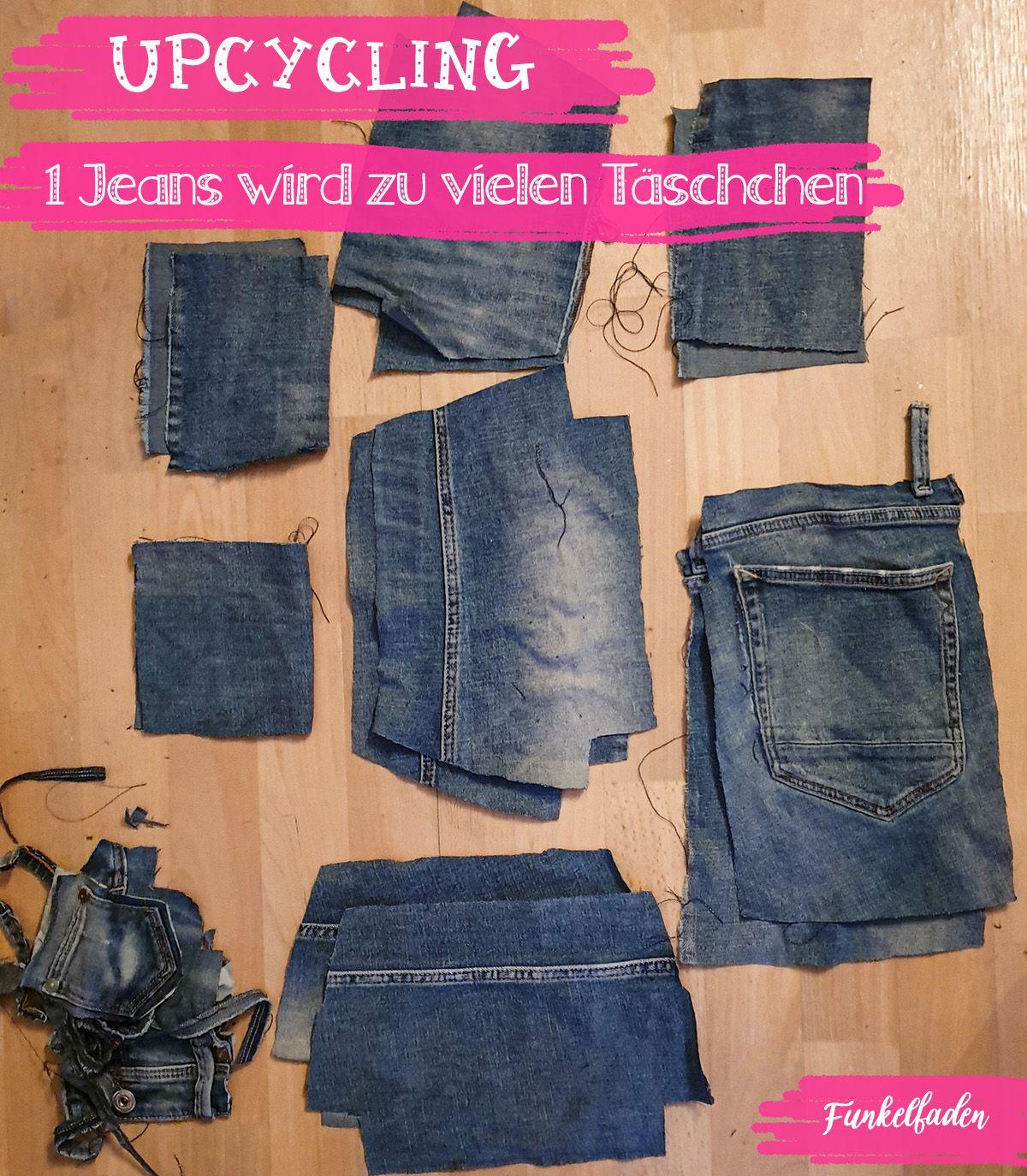 Nähliebe-Plottermotiv und Jeans-Upcycling