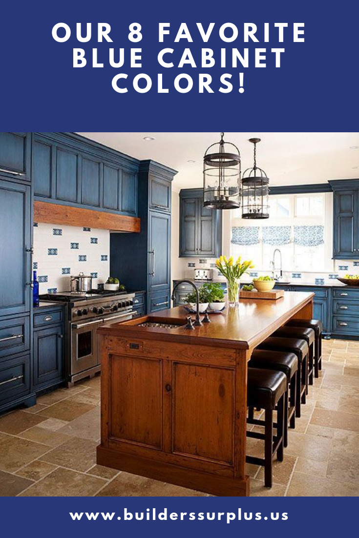 Top 10 Gray Cabinet Paint Colors | Blue cabinets