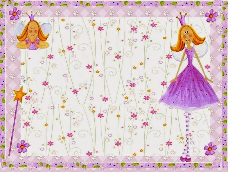 Kit de la Princesa de las Hadas para Imprimir Gratis. | printables ...