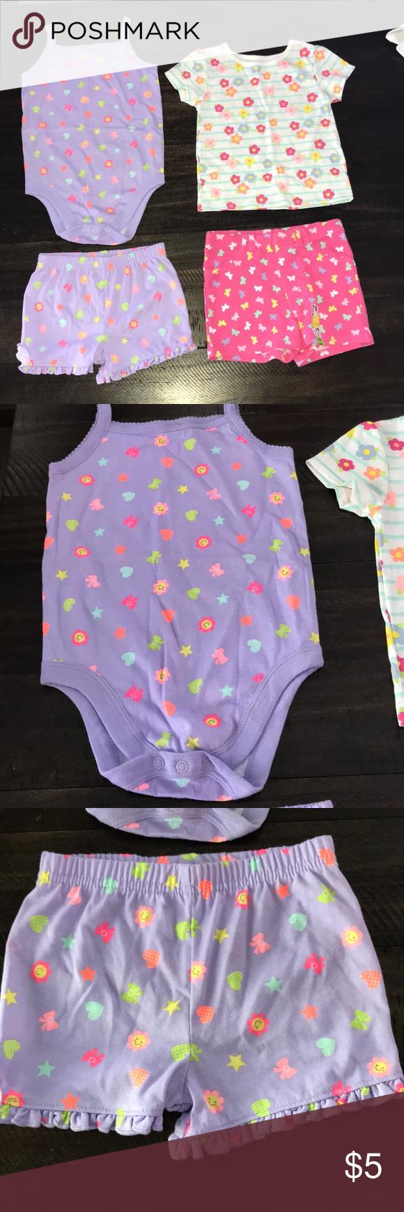 e6ed3154198 24 month lot Adorable lot of baby girls clothes ❣️Garanimals brand  ❣️Onesie