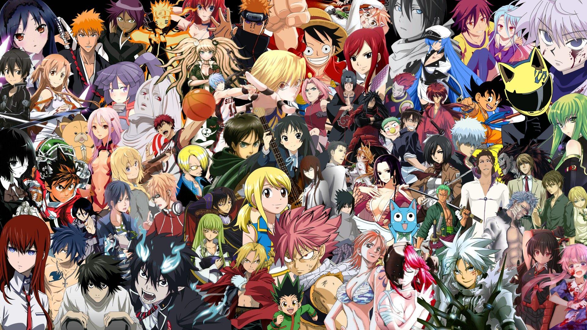 Pin Oleh Sanjie Onepiece Di Anime Wallpaper Wallpaper 8k Wallpaper Anime Wallpaper Naruto Anime crossover wallpaper 1920x1080