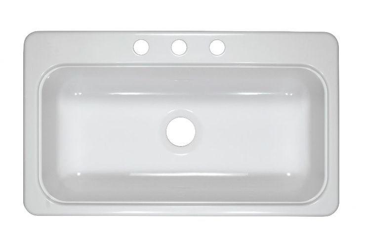 Diamond 32 L X 21 W Double Basin Undermount Kitchen Sink Sink