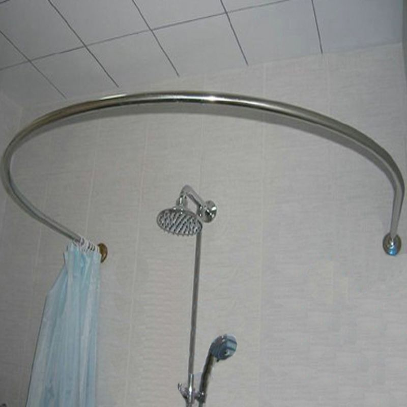 Image result for circular shower curtain rail | Bathroom | Pinterest ...