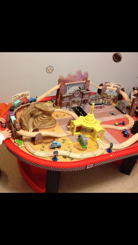 Magnificent Disney Cars Wooden Table Wooden Thing Download Free Architecture Designs Scobabritishbridgeorg
