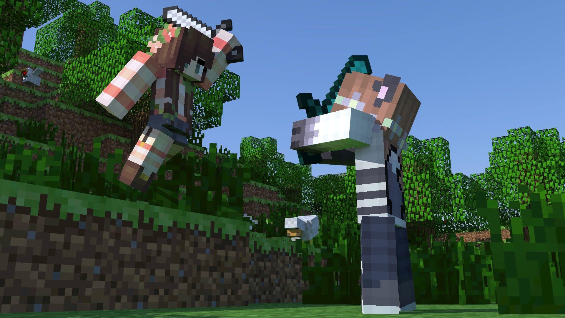 Minecraft skins wallpaper, Minecraft ...