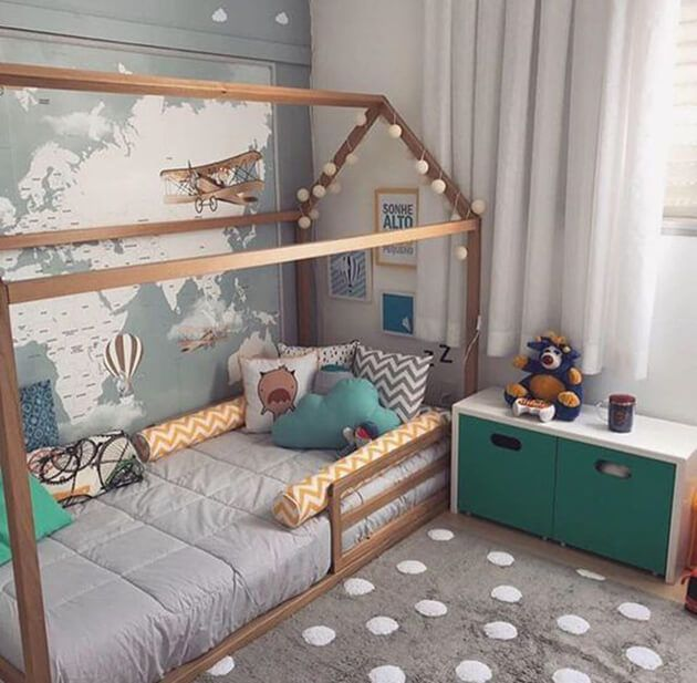 Quarto de criança montessoriano is part of Montessori bedroom - Quarto de criança montessoriano  veja tudo sobre essa tendência de decoração e aproveite para deixar seu ambiente mais bonito e charmoso