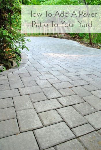 Lovely How To Build A Paver Patio: Itu0027s DONE