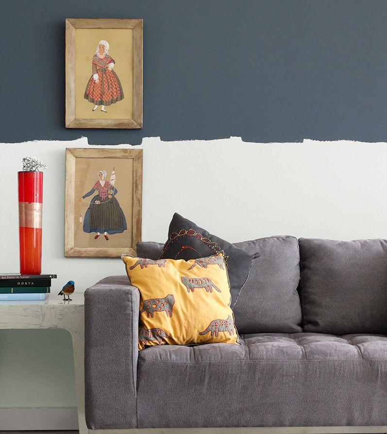 Wohnzimmer im modernen Landhausstil gestalten wall love - moderne wohnzimmer gestalten