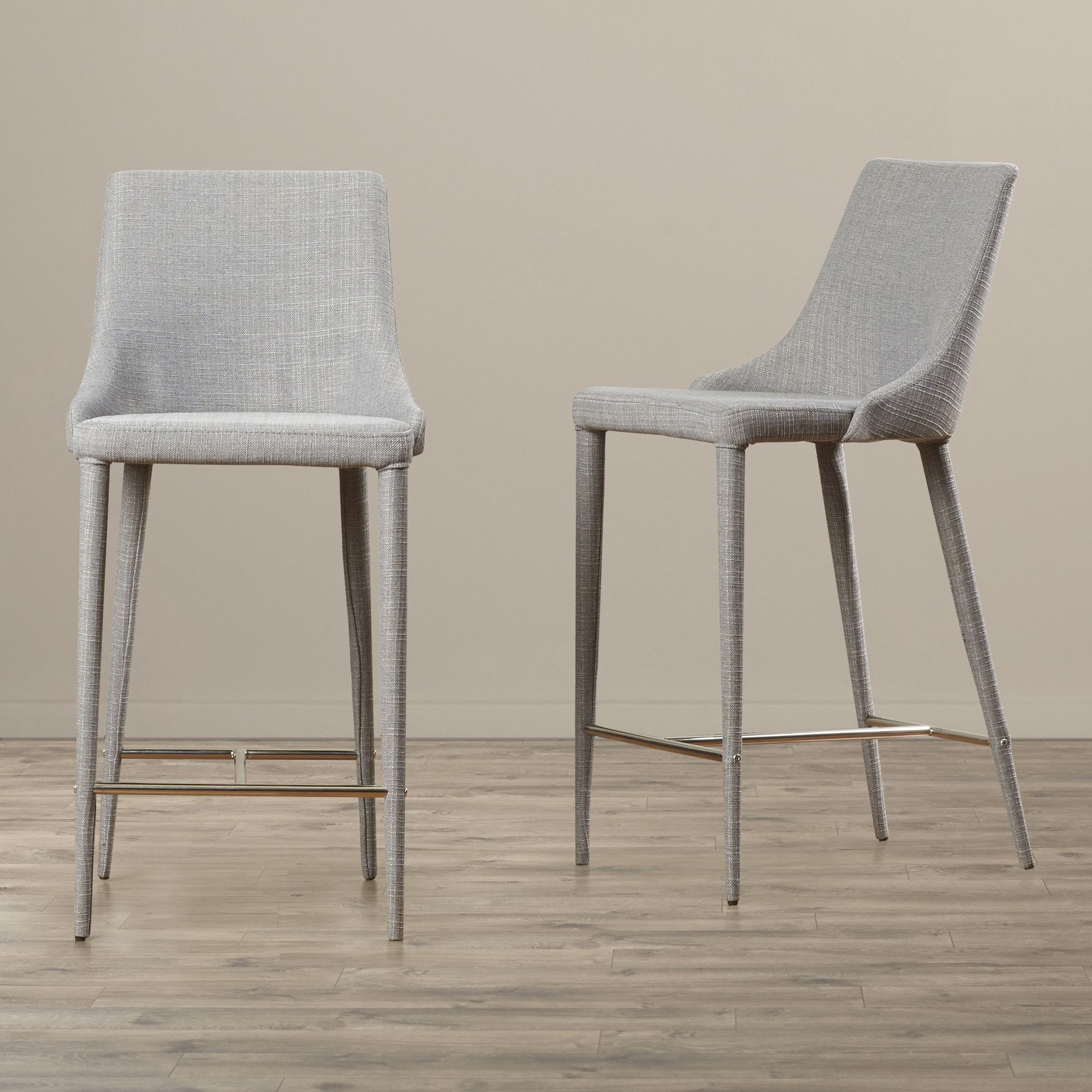 Brilliant Corrigan Studio Lebron 26 Bar Stool Allmodern Home Gmtry Best Dining Table And Chair Ideas Images Gmtryco
