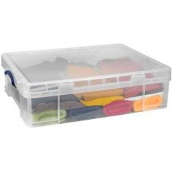 Photo of Really Useful Box Aufbewahrungsbox 70,0 l transparent 81,0 x 62,0 x 22,5 cm Really Useful