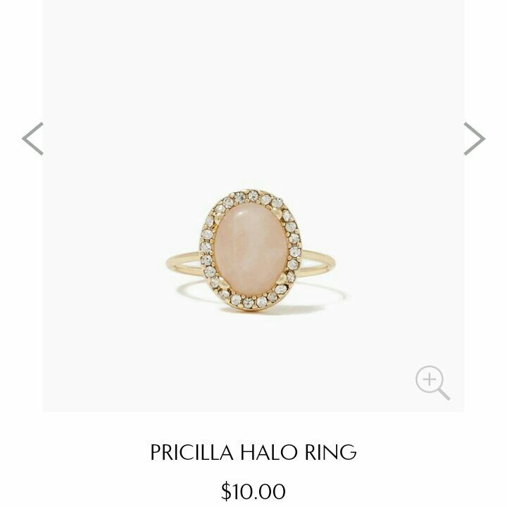 Charming charlie rings