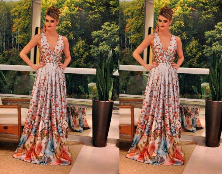 Coisas de diva vestido de festa