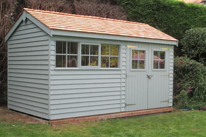 This Is A 6u0027 X 12u0027 Superior Shed With An Apex Roof Has Been
