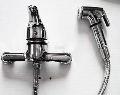 Muslim Shattaf Bidet Toilet Wash Faucet Tap Bathroom Douche Hose