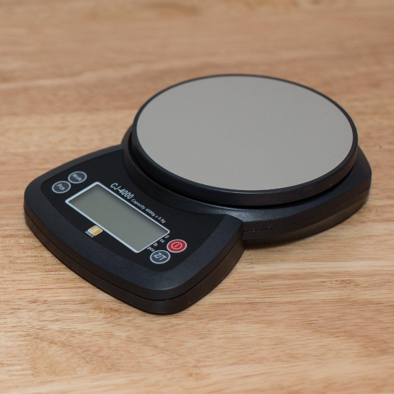 $26 - Jennings CJ4000 4000g x 0.5g Digital Scale: Digital Kitchen Scales: Kitchen & Dining