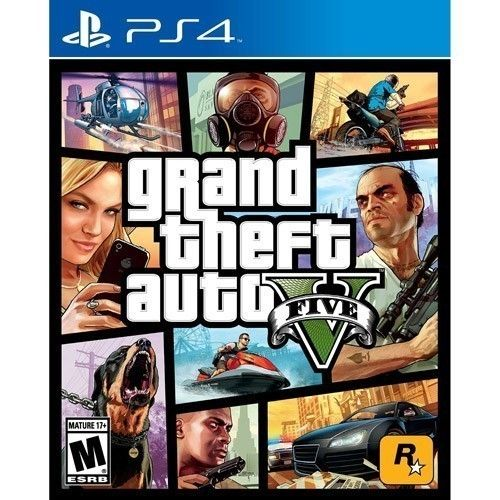 Taketwo Interactive 474521US01 Grand Theft Auto V Ps4