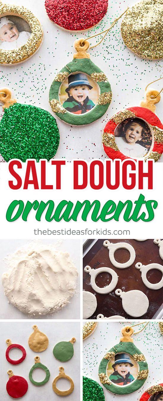 Salt Dough Ornaments #diychristmasgifts