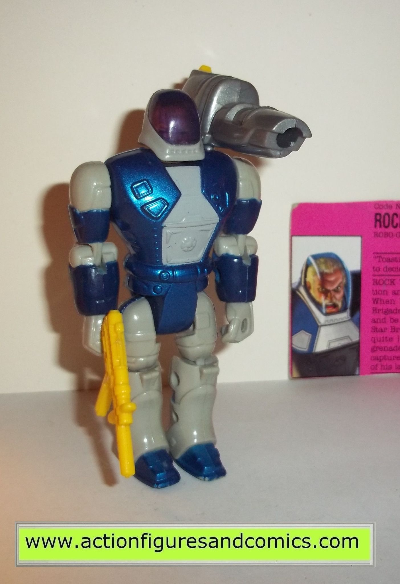 GI Joe Weapon ROBO JOE Missile Launcher 1993 Original Figure Accessory